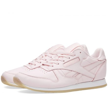 Reebok Women's Classic Leather Crepe (Pink)