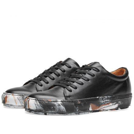 Acne Studios Adrian Oil Sneaker (Black)