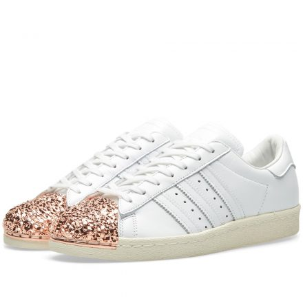 Adidas Women's Superstar 3D Metal Toe W (White)