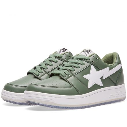 A Bathing Ape Shark Picture Sole Bape Sta (Green)