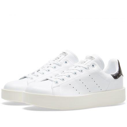 Adidas Women's Stan Smith Bold W (White)
