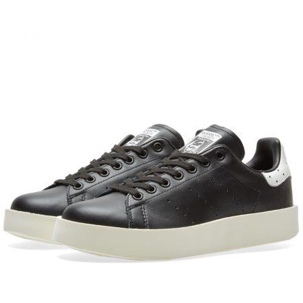 Adidas Women's Stan Smith Bold W (Black)