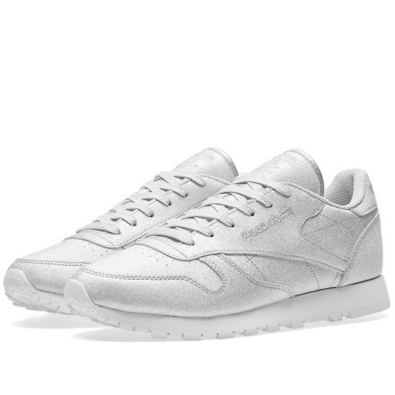 Reebok Women's Classic Leather SYN (Silver)