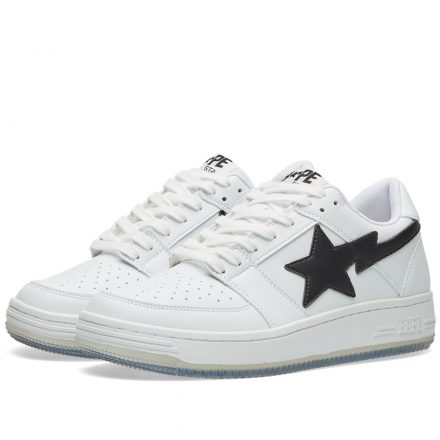 A Bathing Ape Shark Picture Sole Bape Sta (White)