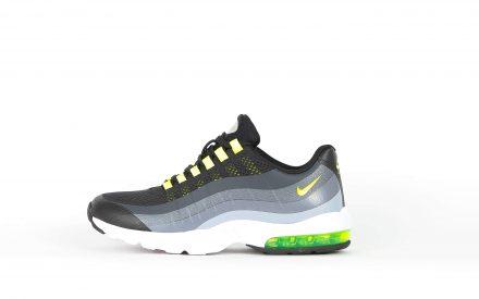 Nike Wmns Air Max 95 Ultra Black/Volt Anthracite Dark Grey US 7   EU 38