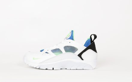 Nike Air Trainer Huarache Low White/Scream Green/Royal Blue US 8 | EU 41