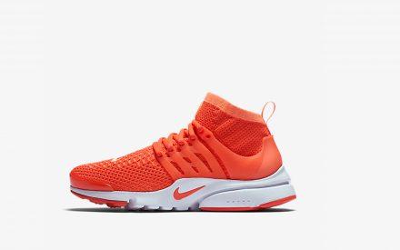 Nike Wmns Air Presto Flyknit Ultra Bright Mango/Bright Crimson
