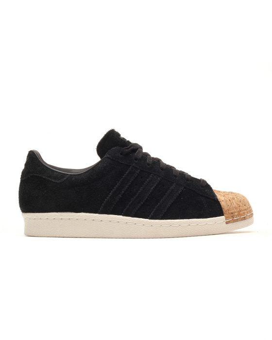 adidas Superstar 80S Cork W (zwart)