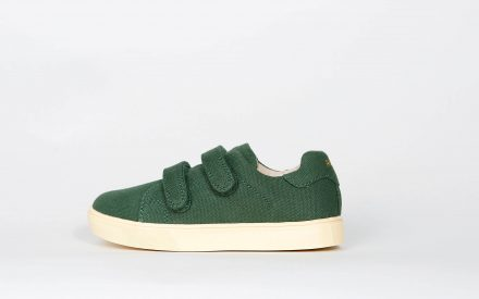 Akid Axel Green Canvas/Light Bone