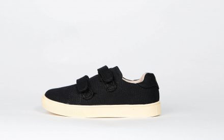 Akid Axel Black Canvas/Light Bone
