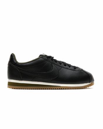 NIKE Classic Cortez Leather (zwart/groen)