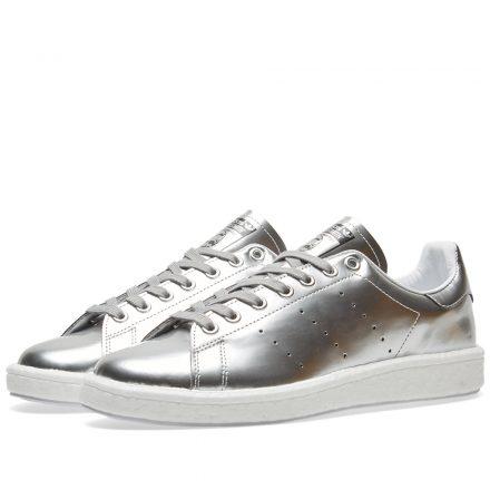 Adidas Women's Stan Smith Boost W (Silver)