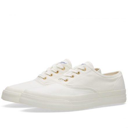 Maison Kitsuné Canvas Sneaker (White)