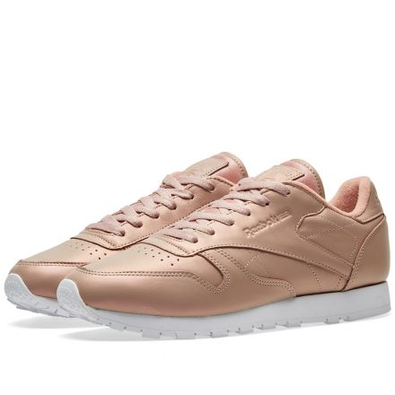 Reebok Women's Classic Leather 'Pearlized' (Gold)