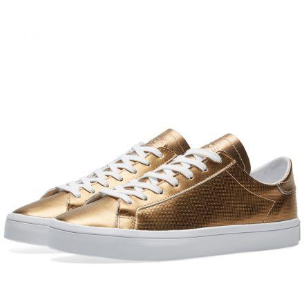 Adidas Women's CourtVantage W (Gold)
