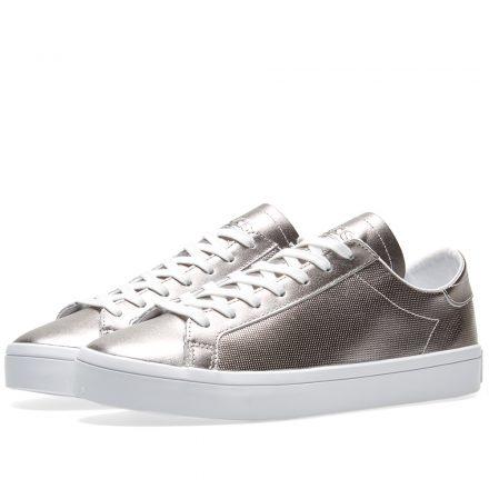 Adidas Women's CourtVantage W (Silver)