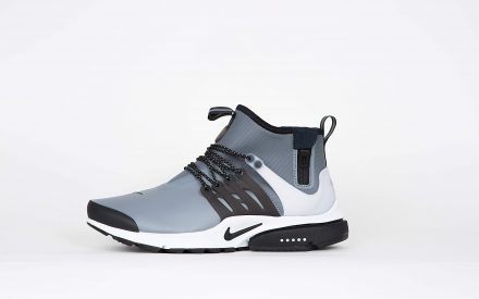 Nike Air Presto Mid Utility Cool Grey/Black Off White Volt