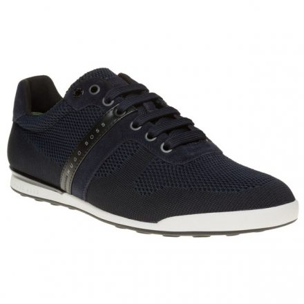 BOSS Green Arkansas Low Trainers (blauw/blauw)