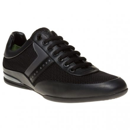 BOSS Green Space Low Trainers (zwart)