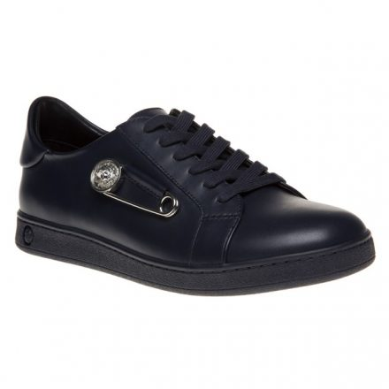 Versus Safety Pin Low Top Trainers (blauw/blauw)