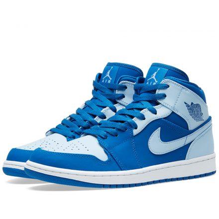 Nike Air Jordan 1 Mid (Blue)