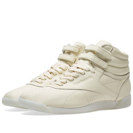 Reebok Women's Freestyle Hi 35th Anniversary (White)