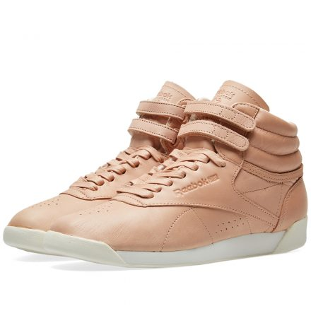 Reebok Women's Freestyle Hi 35th Anniversary (Brown)