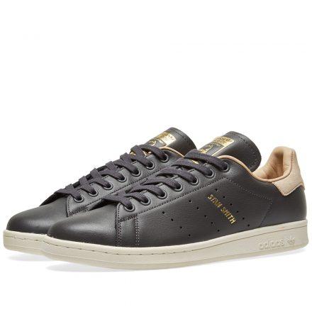 Adidas Women's Stan Smith W (Black)