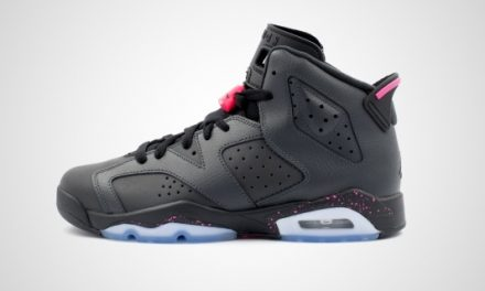 Air Jordan 6 Retro BG (Zwart) Sneaker