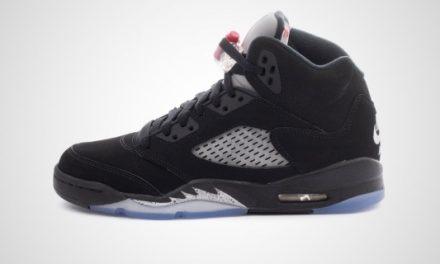 """Air Jordan V Retro OG BG """"Metallic Silver"""" Sneaker"""