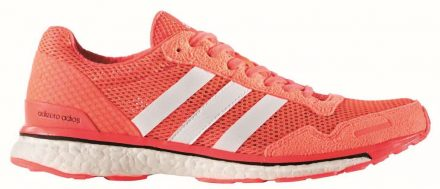 Adidas adizero Adios Boost 3 (rood)