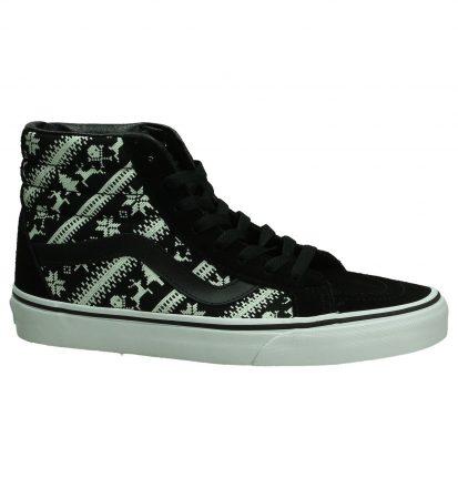 Vans Reissue Zwarte Sneakers