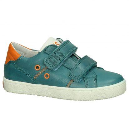 Cks Blauwe Klittenband Sneakers
