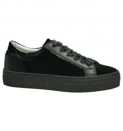 Hip Zwarte Velours Sneakers