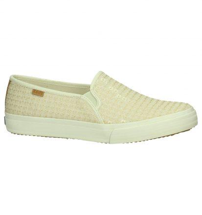 Ecru Slip-on Sneakers Keds