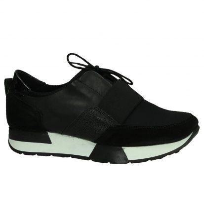 Poelman Zwarte Sneakers