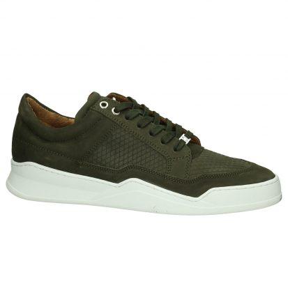 Kaki Sneakers Allin Pyramid Low Sneakers