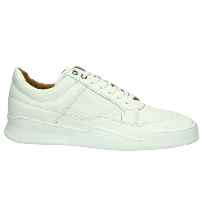 Hinson Allin Pyramid Low Witte Sneakers