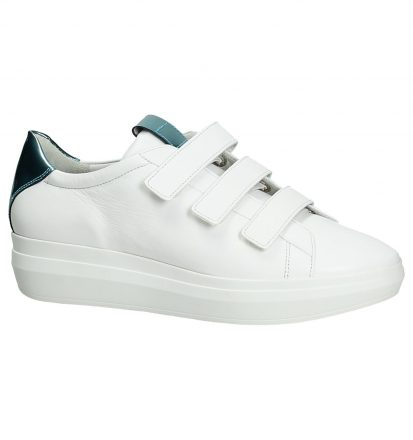 Witte Sneakers met Klittenband Högl