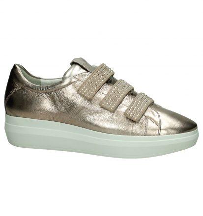 Lage Sneakers Högl Roze met Swarovski Crystals