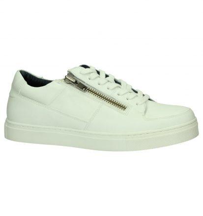 Witte Sneaker met Plateauzool Christoff
