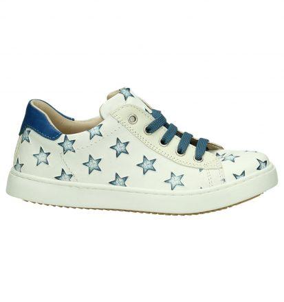 Witte Sneakers Rits/Veter JFF