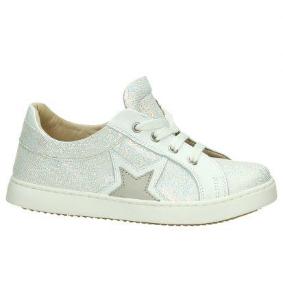 Zilveren Sneakers Rits/Veter JFF