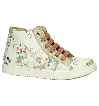 Jff Witte Sneakers Rits/Veter