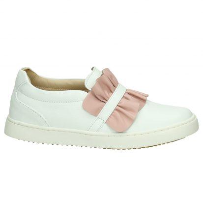 JFF Witte Sneakers Slip-On