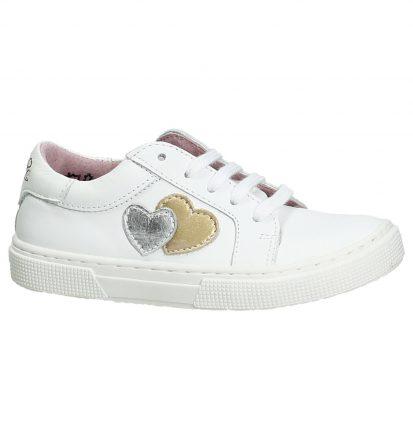 Witte Sneakers met Hartjes Le Chic Bobbi