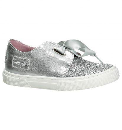 Le Chic Floor Zilveren Sneakers