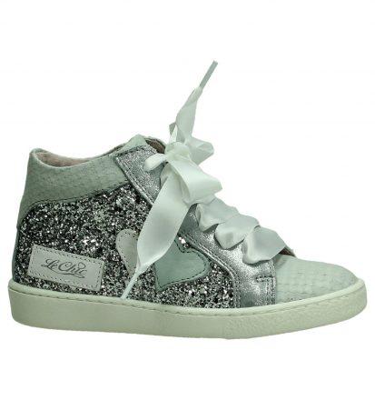 Hoge Sneaker met Glitters Le Chic