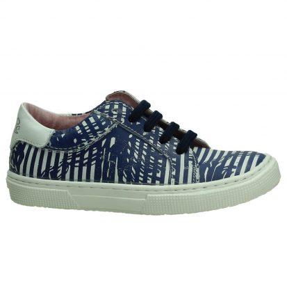 Blauw/Witte Sneaker Le Chic