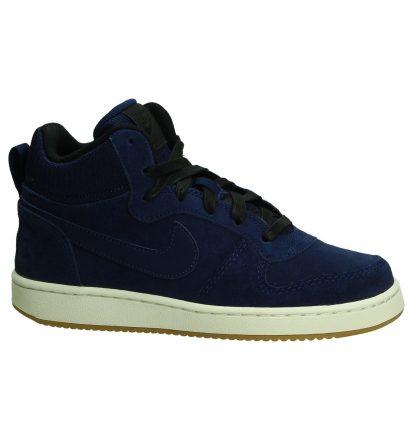 Blauwe Sneakers Nike Court Borough